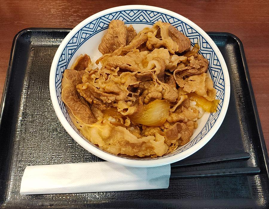 [吉野家]牛丼[並](387円)