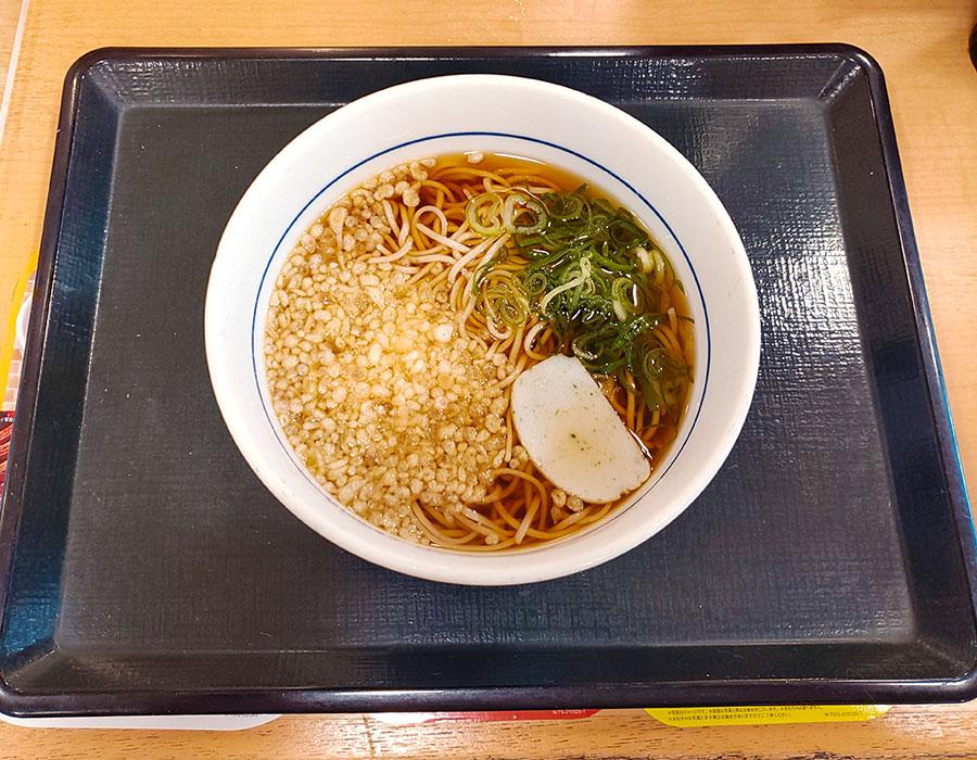 [なか卯]朝そば(290円)