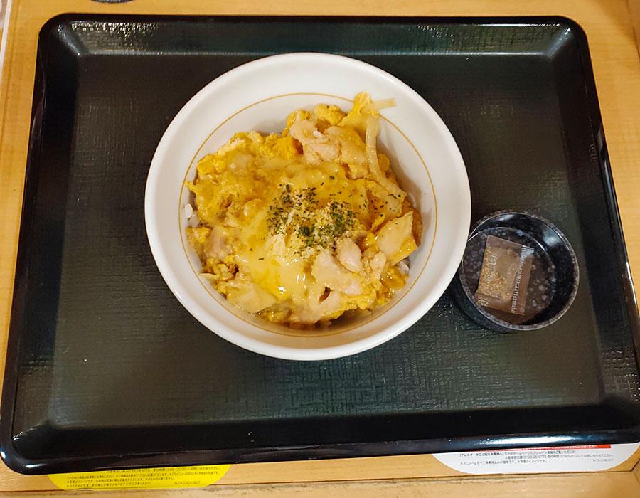 [なか卯]濃厚チーズの親子丼[並](590円)
