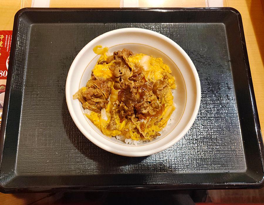 [なか卯]牛とじ丼(560円)