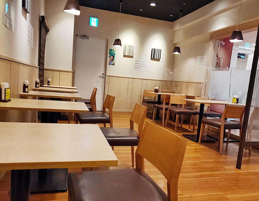 [つきじ亭]ミニ牛丼かけそば(760円)[羽田空港第2ターミナル]