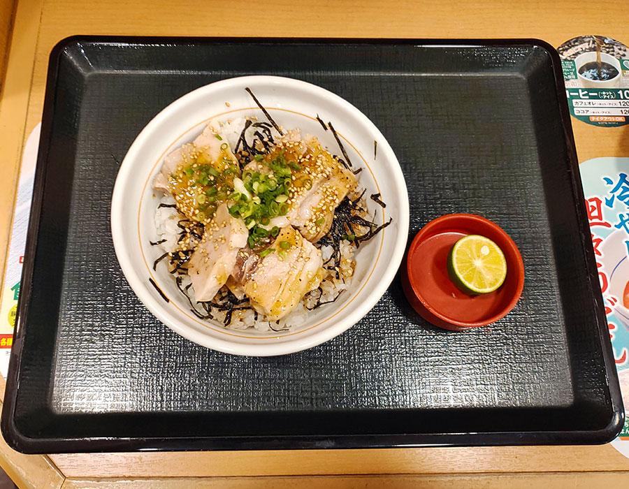 [なか卯]うま塩豚角煮丼[並](690円)
