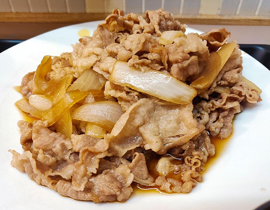 [松屋]お肉どっさりグルメセット(930円)